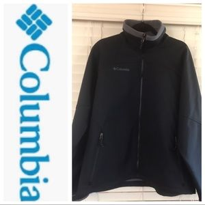 COLUMBIA Soft-shell Interchange Jacket Size L